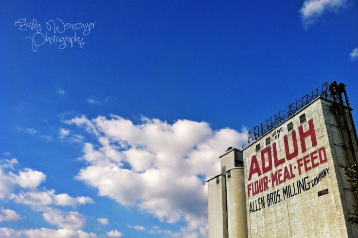 Adluh Flour.